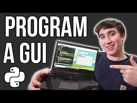 How To Program A GUI Application (with Python Tkinter)!
