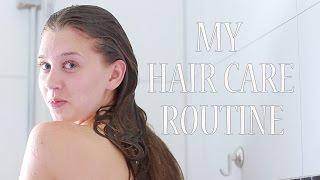 Что я делаю с волосами? МОЙ УХОД