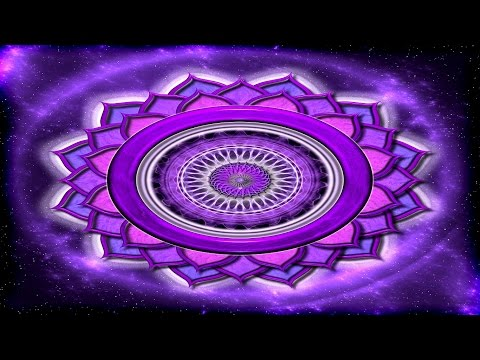 Crown Chakra Balancing: The Gate To your Higher Self | Subliminal Binaural Beats Meditation