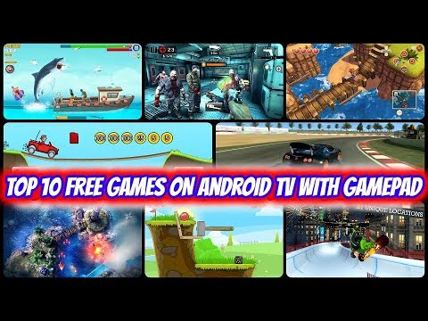 Top 10 Free Games On Android TV With Gamepad