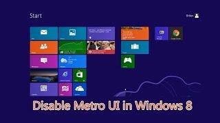 Skip Metro Suite  - Disable Metro UI in Windows 8