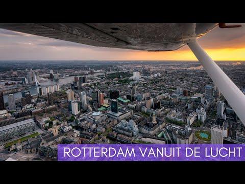 [VLOG 1] fotos maken van de ROTTERDAM skyline vanuit de LUCHT!