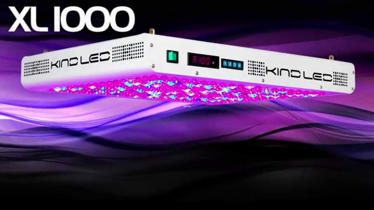 Kind LED Grow Lights | K5 Series | Best LED Grow Light 2014 - YouTube