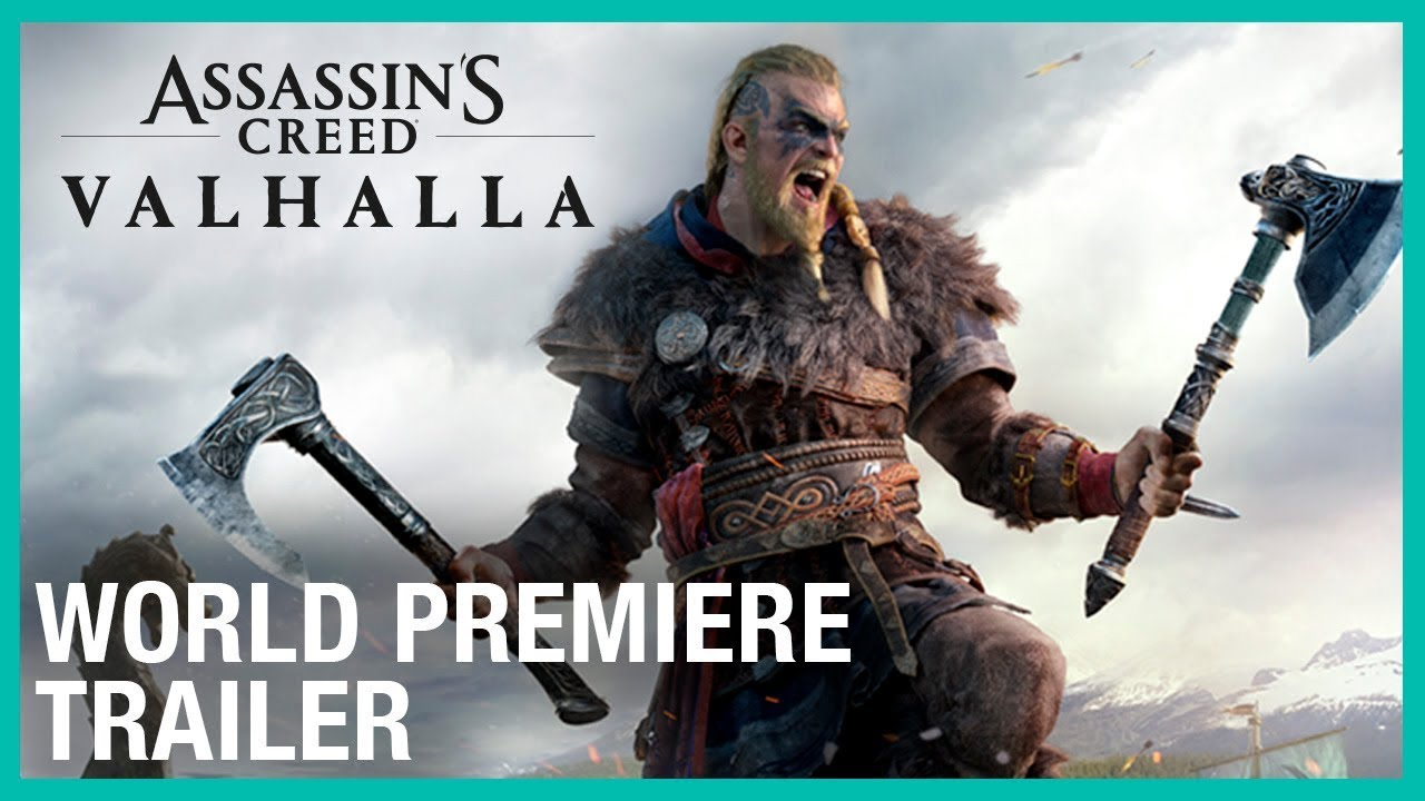 Assassin S Creed Valhalla Cinematic Trailer Youtube