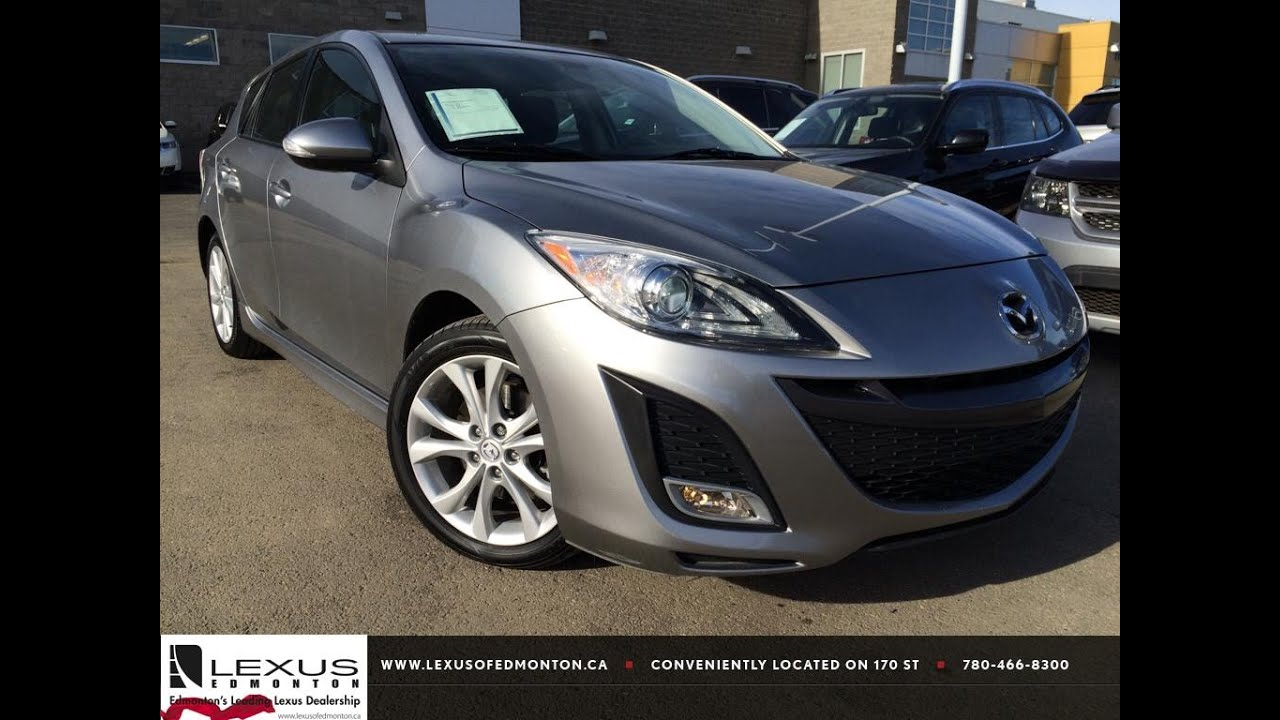 Pre Owned Silver 2010 Mazda Mazda3 Hb Sport Man Gt Review St Albert Alberta