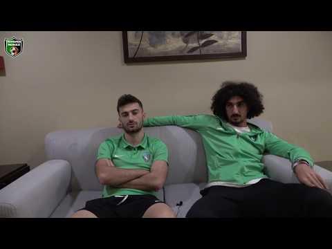 Kocaelispor'un yıldızları Burak Süleyman ve Yakup Alkan röportajı | Transfer Merkezi