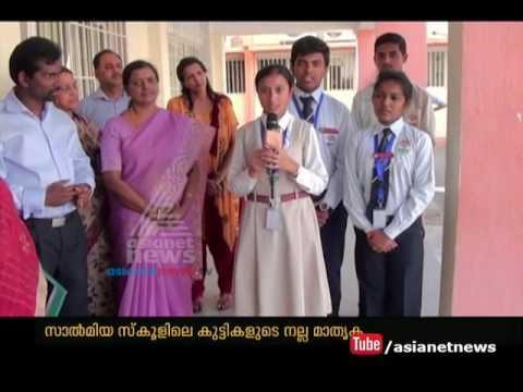 Kuwait Salmiya Indian Community School Students Contributes Their Pocket Money Social Services