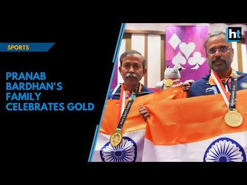Asian Games 2018: Pranab Bardhan's family celebrates gold victory