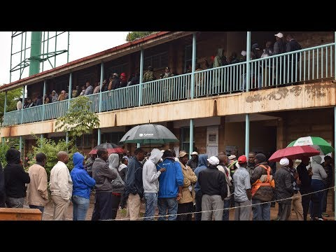 Nairobi residents brave chilly weather to cast their ballots