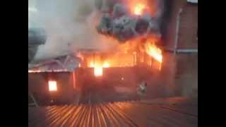 горит дом наших родителей 1 Пожар на ул. Ашхабадская.mp4