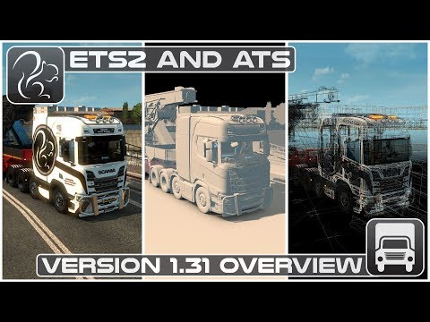 ETS2 + ATS Version 1.31 Release (Euro Truck Simulator 2 + American Truck Simulator)