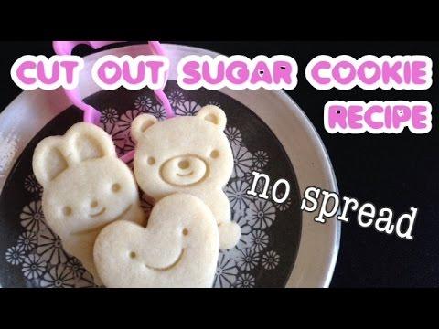 Cute Cutout Sugar Cookie Recipe No Spread No Chill No Fail
