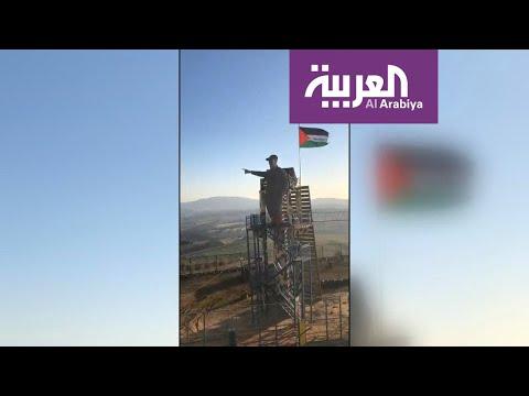 فيديو يوثق لحظة إزاحة ميليشيا حزب الله الستار عن تمثال سليماني  - نشر قبل 4 ساعة