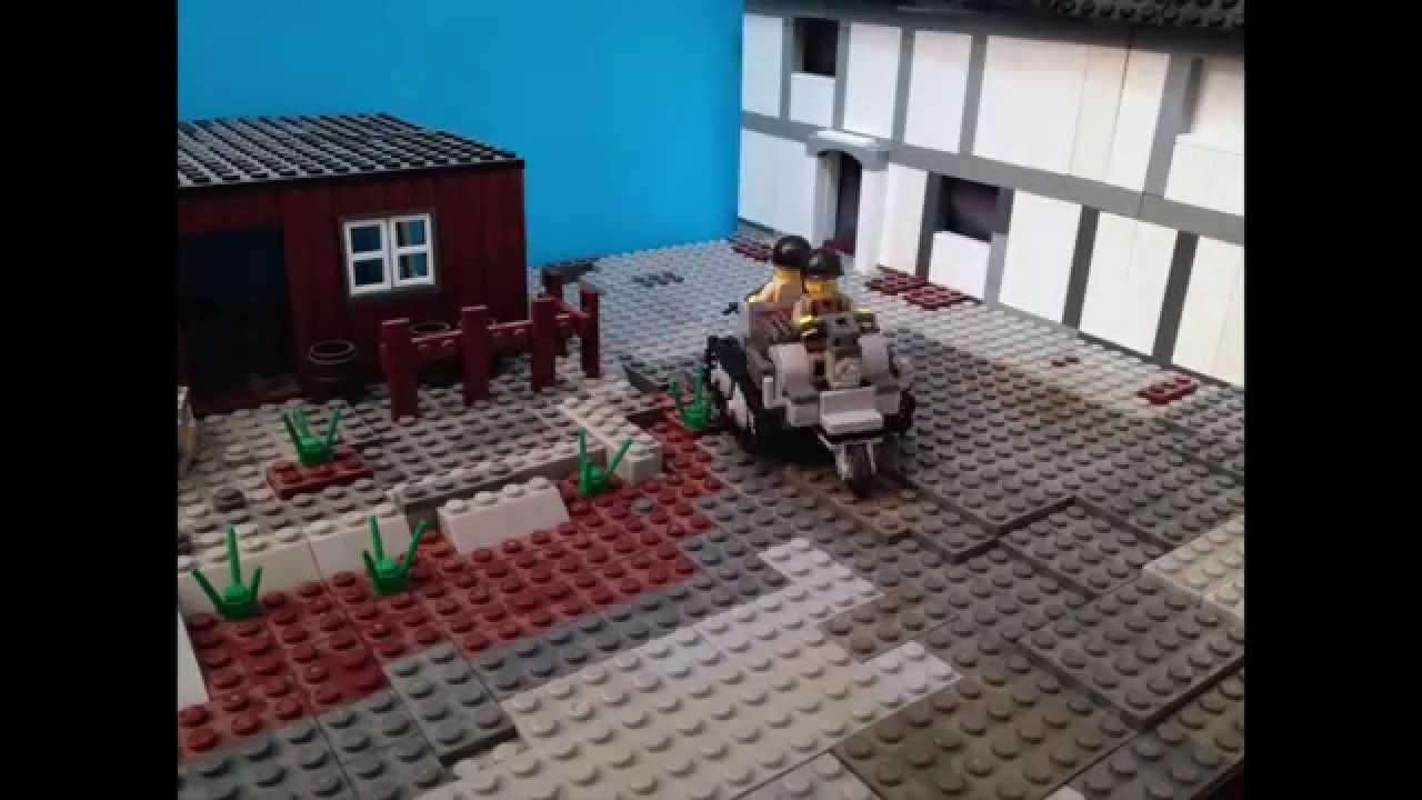 Lego ww2 battle of ramelle part 1 stopmotion youtube for Siege lego france