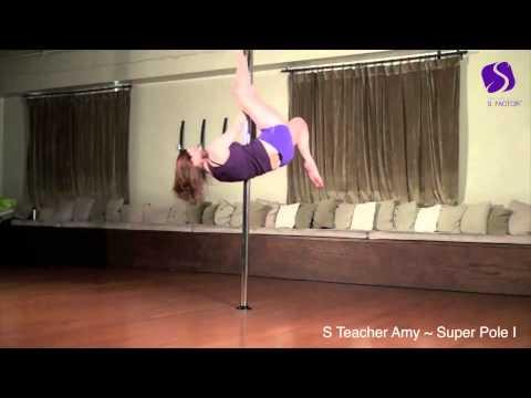 Pole Dancing at Sheila Kelley S Factor Super Pole l