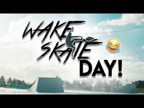 WAKESKATE DAY! Skills And Spills At CWC, Philippines | The Peacock Brothers