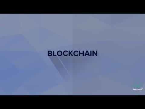 Affidaty: cos'è la blockchain