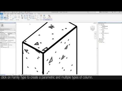 Revit Tutorial - Creating a simple Structural Column thumbnail