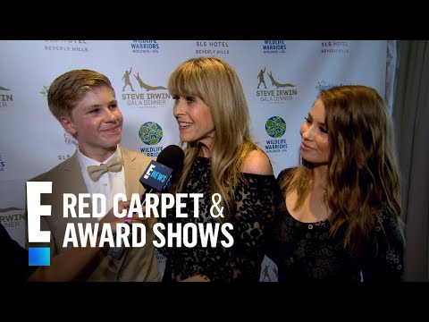 Terri Irwin Gets Emotional at Steve Irwin's Gala Dinner | E! Live from the Red Carpet