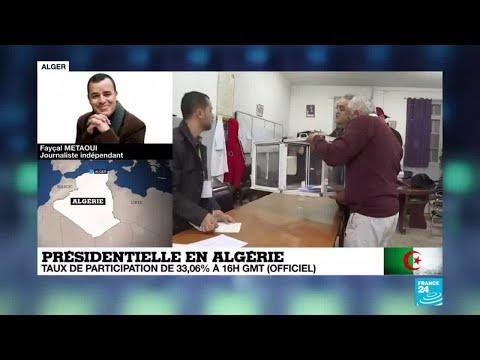 Présidentielle en Algérie : les résultats définitifs annoncés vendredi à 15H00