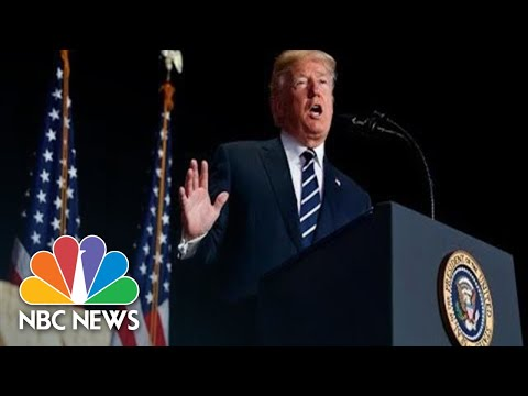 Watch Live: President Donald Trump Speaks At Police Conference In Chicago | NBC News