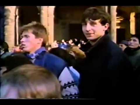 Cz Sametová Revoluce 1989