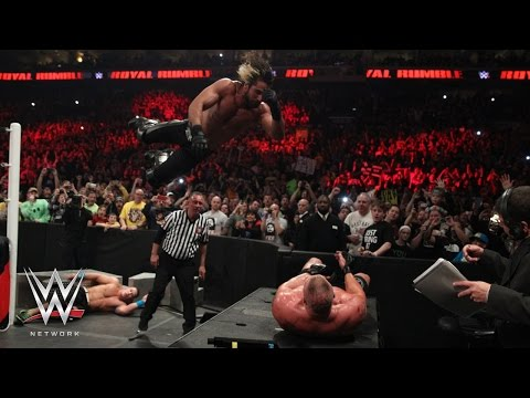 WWE Network: Lesnar Vs. Rollins Vs. Cena: WWE World Heavyweight Titel Match: Royal Rumble 2015