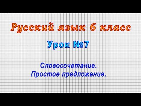 Видеоурок по русскому языку 6 класс ладыженская