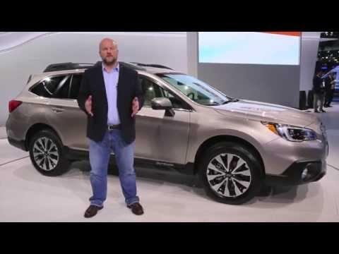 2015 Subaru Outback Preview: 2014 New York Auto Show