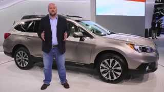 2015 Subaru Outback Preview: 2014 New York Auto Show
