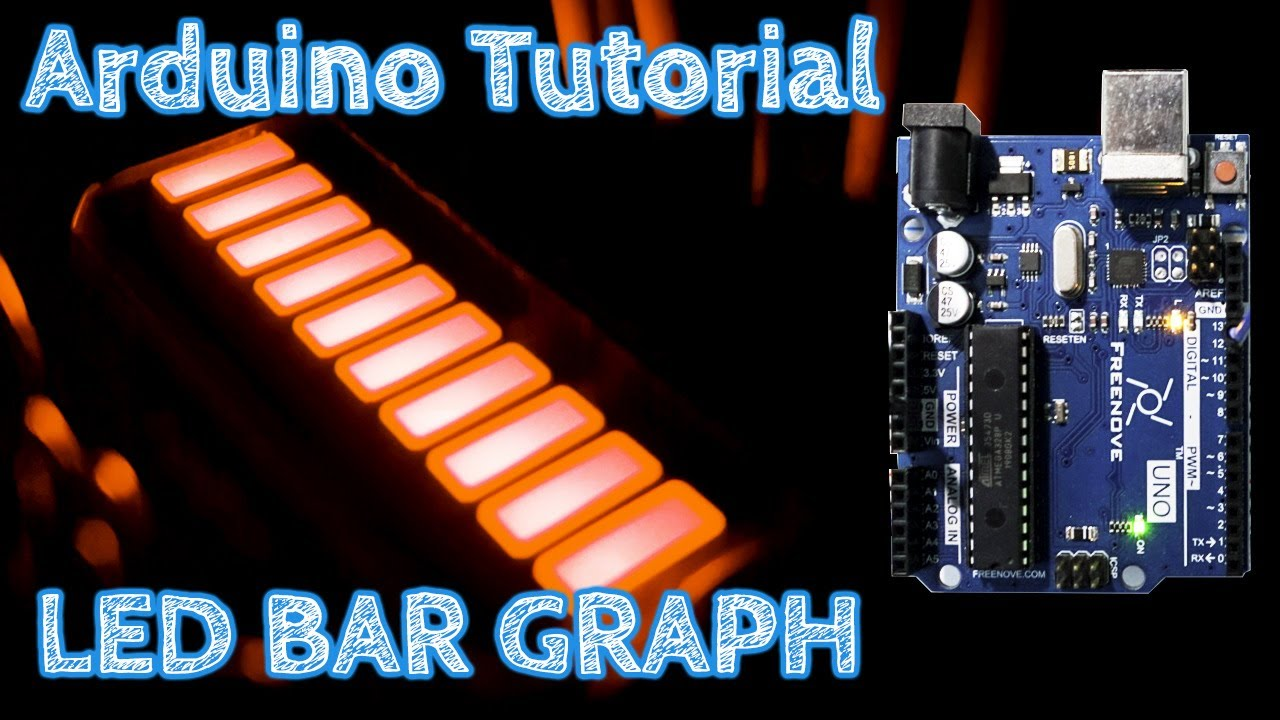 Download Arduino Tutorial LED Bar Graph #arduinoproject