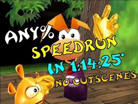 [World Record] Rayman 2 (PC) - Any% Speedrun in 1:14:25* Loadless   1:15:58 RTA