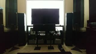 Polk Audio LSiM 703 Bookshelf Speaker 2 Channel Music listening Test.
