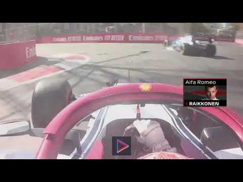 Kimi Raikkonen 2019 Azerbaijan GP Race RADIO