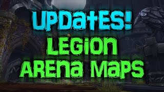 WoW Legion Updates! NEW ARENAS & GEARING SYSTEM [Cobrak]