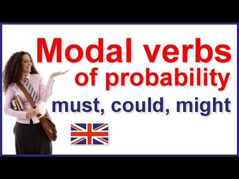 Modal verbs of probability | English grammar - YouTube