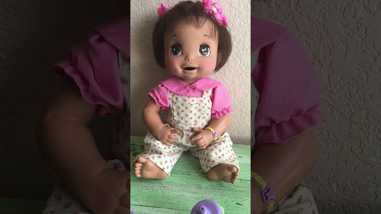 Baby Alive Soft Face Interactive Doll Hispanic 2006