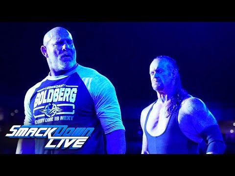 HINDI - Goldberg comes face-to-face with The Undertaker: SmackDown Live, June 5, 2019