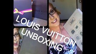 Louis Vuitton Book Unboxing!