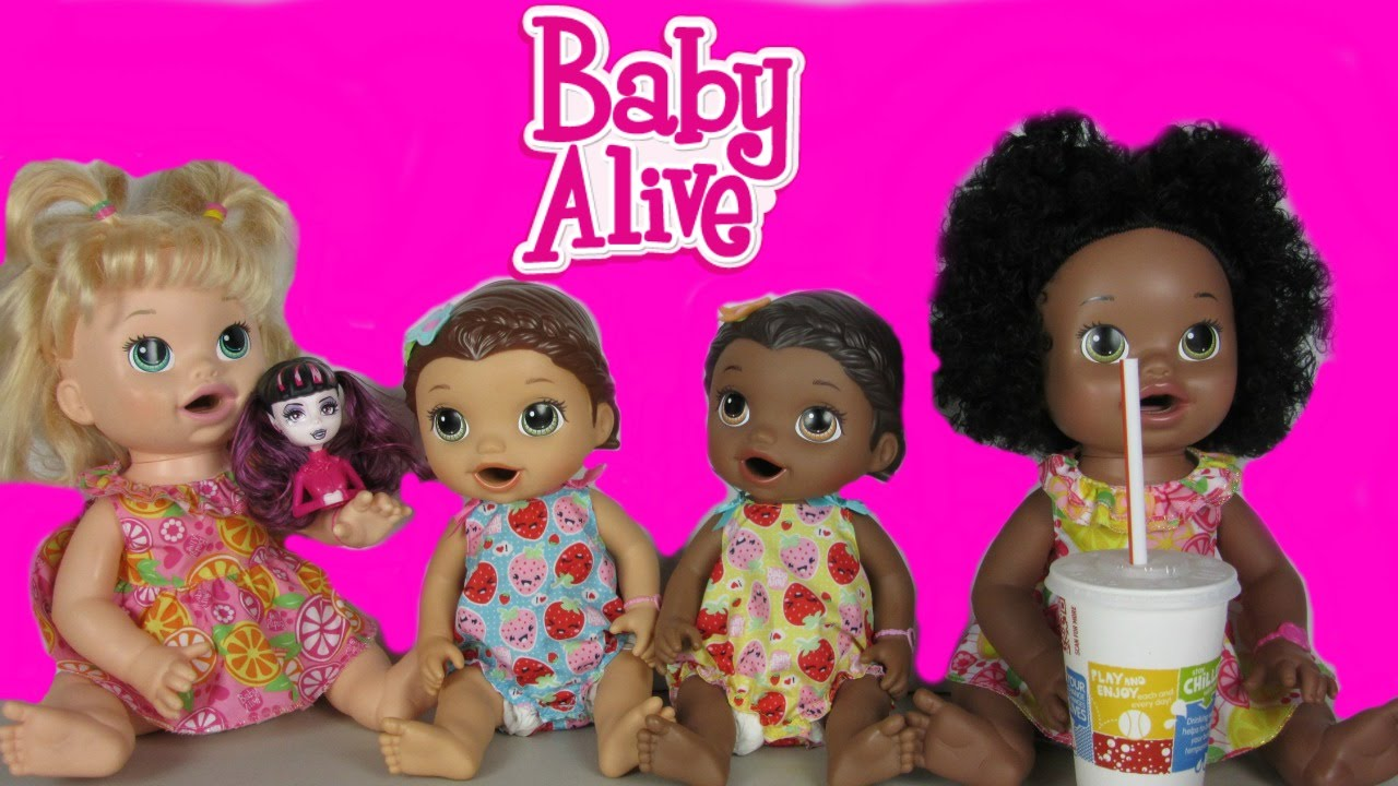 Baby Alive Outing To Target Amp Mcdonalds Searching For New