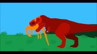 PPBA Tyrannosaurus vs Saurophaganax Remake