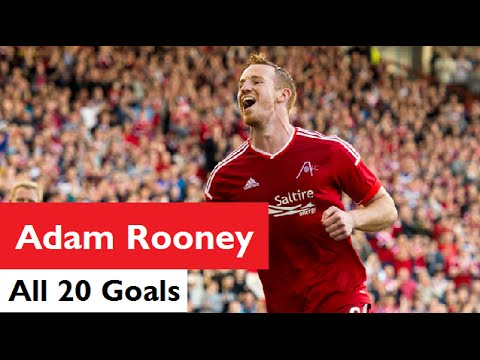 Adam Rooney - All 20 Goals in the SPFL