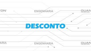 Desconto - Caixa Registradora Quanton BR-1010G