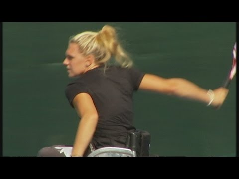 Britain's unknown wheelchair tennis champion | Channel 4 News