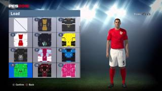 PES World PES 2016 Bristol city kit instructions