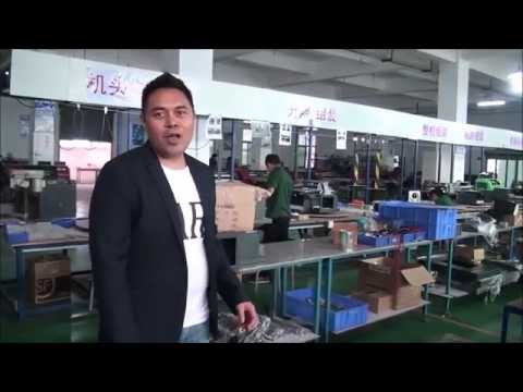 Factory Tour at Digital Flatbed Printer Factory Dongguan China