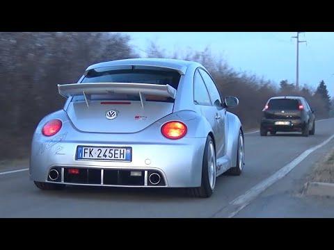 Modified Cars Leaving Car Meet! - VW Beetle RSi, Aventador SVJ, Subaru Impreza WRX STI & More!