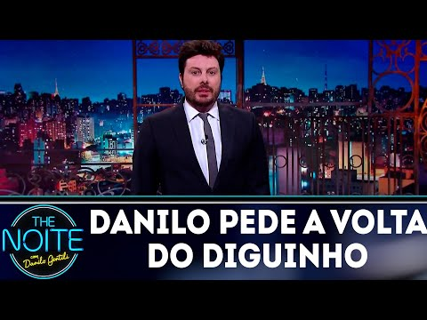 Monólogo: Danilo pede a volta do Diguinho | The Noite (30/05/18)
