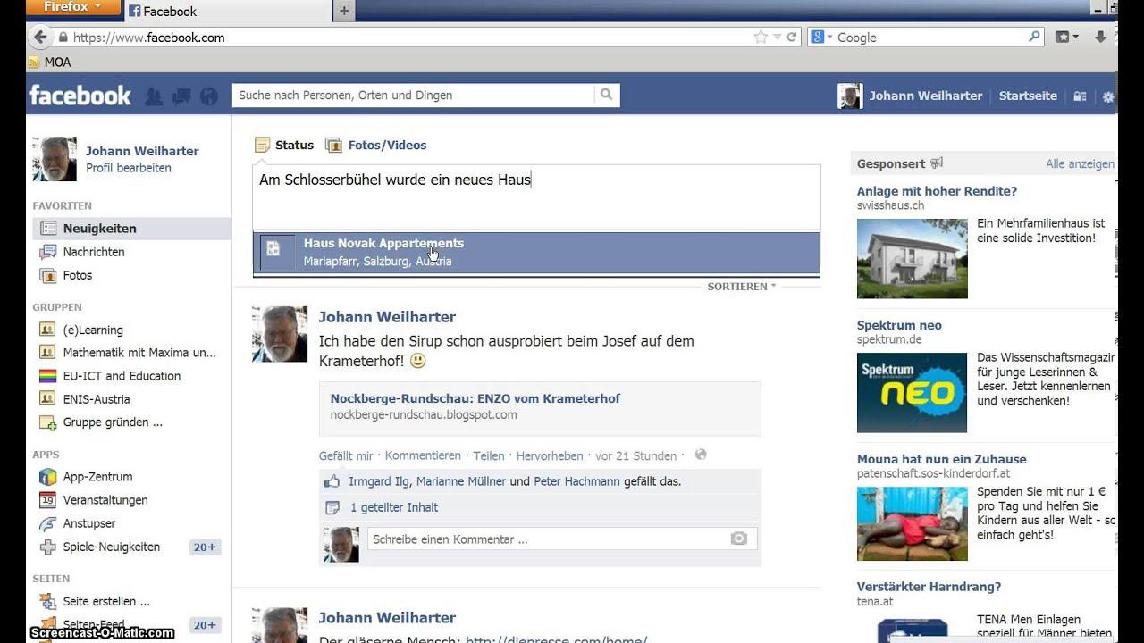 Facebook Video Posten