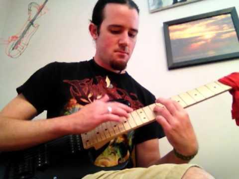 "Joe Satriani ""The Forgotten Part 1"" (""Flying in a Blue Dream"") cover! dimarzio Crunchlab  Liquifire"